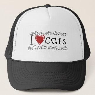 I Herz-Auto-T-Shirts und Geschenke Truckerkappe
