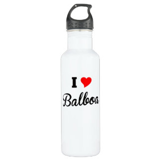 I Herz-Balboa Trinkflasche