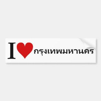 I [Herz] Bangkok Autoaufkleber