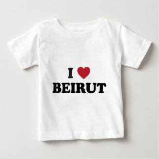 I Herz Beirut der Libanon Baby T-shirt
