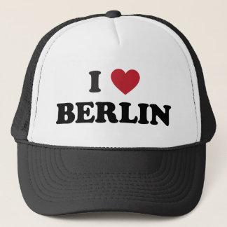 I Herz Berlin Deutschland Truckerkappe