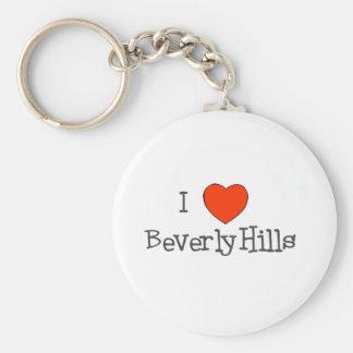 I Herz Beverly Hills Schlüsselanhänger