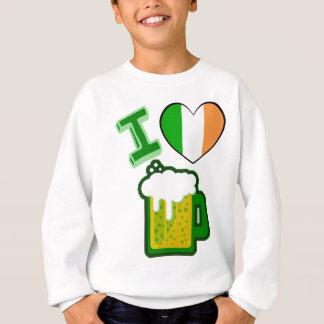I Herz-Bier Sweatshirt