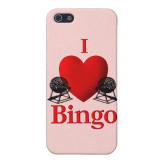 I Herz-Bingo iPhone 5 Hülle