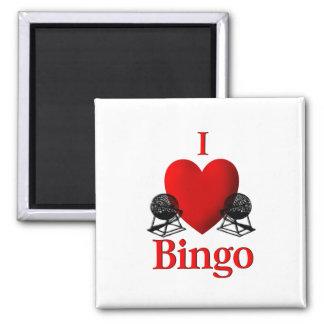 I Herz-Bingo Quadratischer Magnet