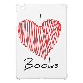 I Herz-Bücher iPad Mini Hülle