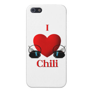I Herz-Chili iPhone 5 Cover