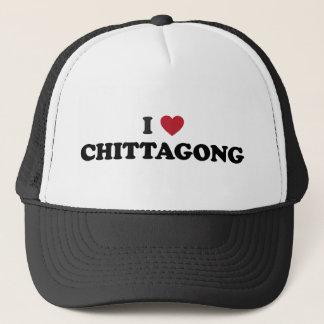 I Herz Chittagong Bangladesch Truckerkappe
