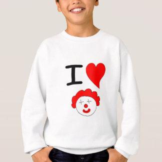 I Herz-Clowns Sweatshirt
