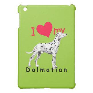 I Herz-Dalmatiner iPad Mini Hülle