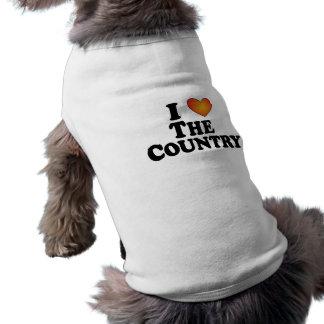 I (Herz) das Land - verfolgen Sie T - Shirt
