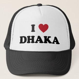 I Herz Dhaka Bangladesch Truckerkappe