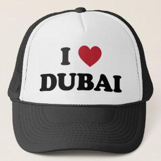 I Herz Dubai Arabische Emirate Truckerkappe