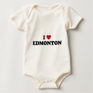 I Herz Edmonton Kanada Baby Strampler