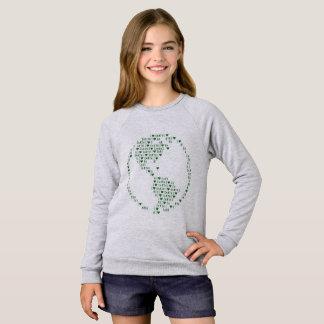 I Herz-Erde Sweatshirt