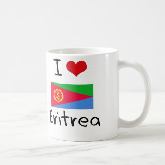 I HERZ ERITREA KAFFEETASSE