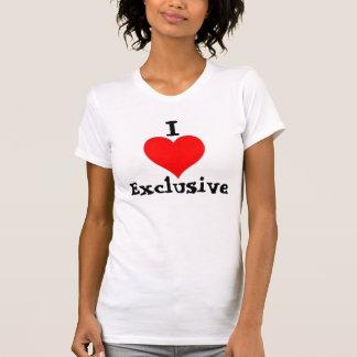 I Herz-Exklusives (weißes T-Stück) T-Shirt