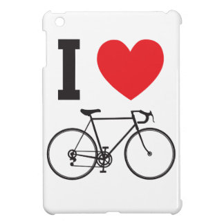 I Herz-Fahrrad iPad Mini Hülle
