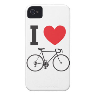 I Herz-Fahrrad iPhone 4 Hüllen