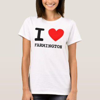 I Herz FARMINGTON-Shirt T-Shirt