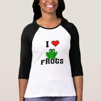 I Herz-Frösche Hemden