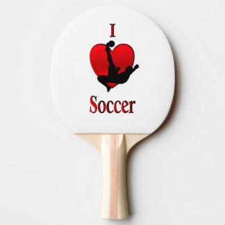 I Herz-Fußball Tischtennis Schläger