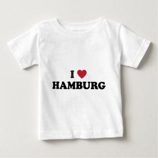I Herz Hamburg Deutschland Baby T-shirt