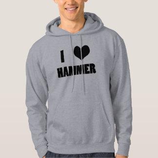 I Herz-Hammer, Hammer-WurfHoodie Hoodie