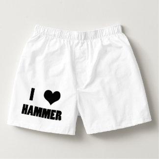 I Herz-Hammer, Hammer-Wurfs-Unterwäsche Herren-Boxershorts