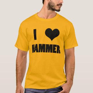 I Herz-Hammer, Hammerthrow-Shirt T-Shirt