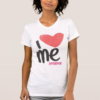 I Herz ich rosa T-Shirt