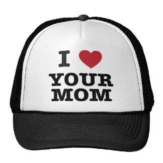 I Herz Ihre Mamma Kult Cap