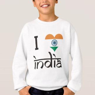 "I ""Herz"" Indien - i-Liebe Indien Sweatshirt"