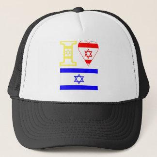 I Herz Israel Truckerkappe