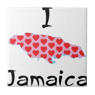 I Herz Jamaika Keramikfliese