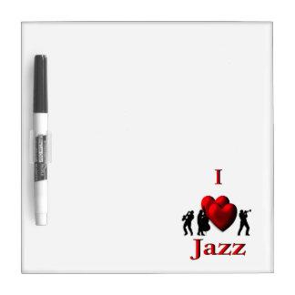 I Herz-Jazz Trockenlöschtafel