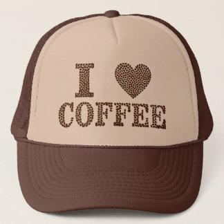 I Herz-Kaffee Netzcap