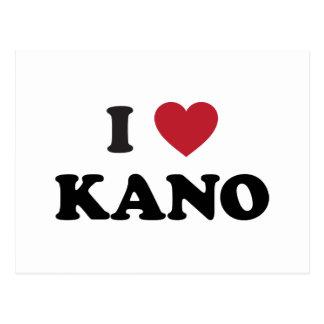 I Herz Kano Nigeria Postkarte