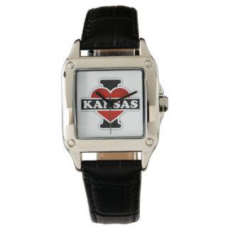 I Herz Kansas Armbanduhr