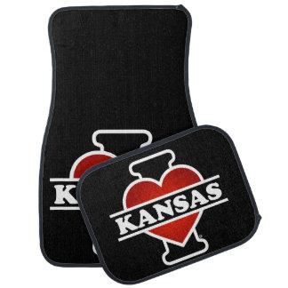 I Herz Kansas Automatte