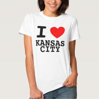 I Herz-Kansas- CityShirt T Shirts