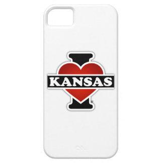 I Herz Kansas Etui Fürs iPhone 5