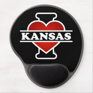 I Herz Kansas Gel Mouse Pad