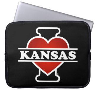 I Herz Kansas Laptop Computer Schutzhülle