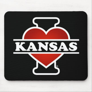 I Herz Kansas Mauspads