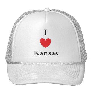 I Herz Kansas Mützen