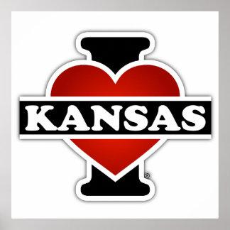 I Herz Kansas Poster