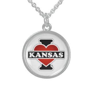 I Herz Kansas Sterlingsilber Halsketten