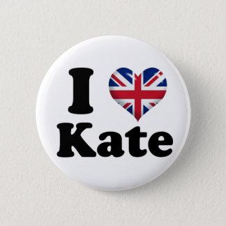 I Herz Kate Runder Button 5,7 Cm