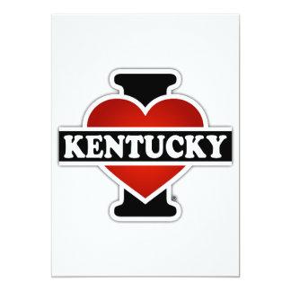 I Herz Kentucky Karte